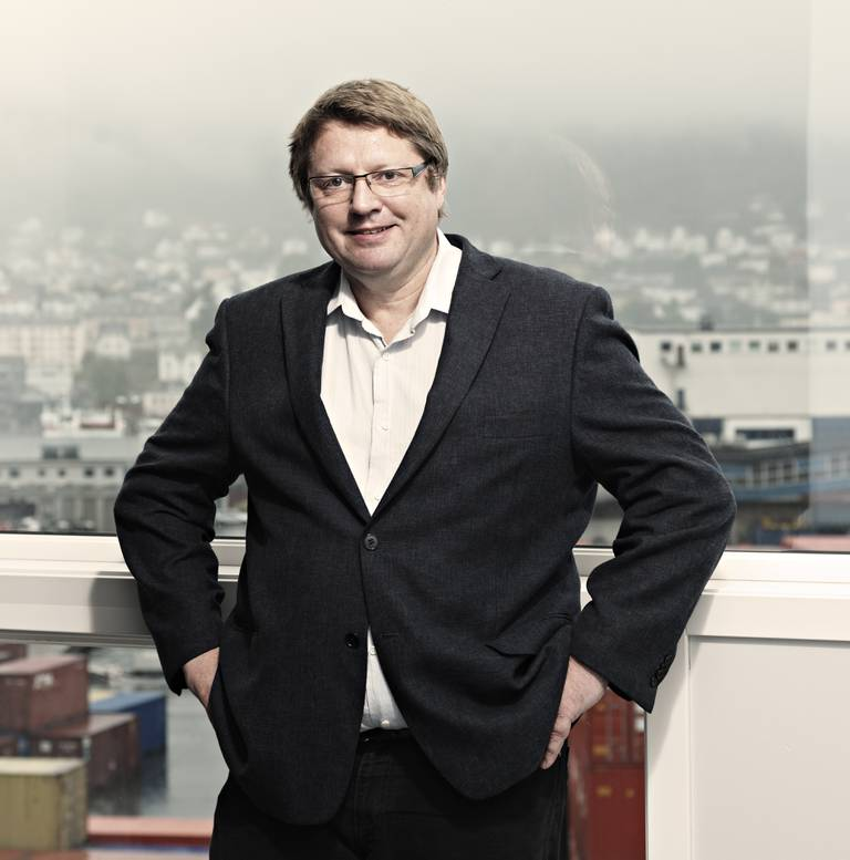 Arne Strand, forskningsdirektør ved Christian Michelsens institutt