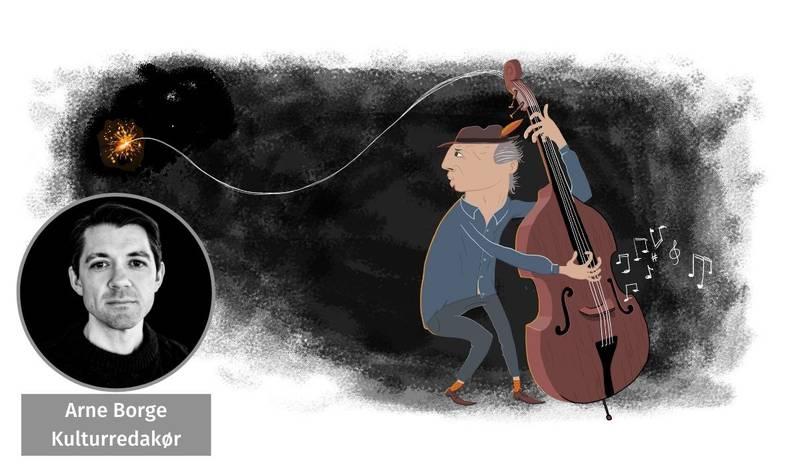 Arne Borge kommenterer Kongeberg jazzfestival.