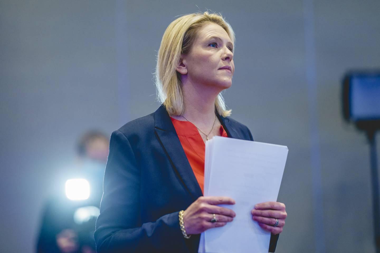 Fremskrittspartiets leder Sylvi Listhaug. Foto: Stian Lysberg Solum / NTB