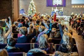 Så mange får kome på julegudsteneste i år
