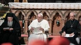 Paven og andre kirkeledere ber om klima-handling