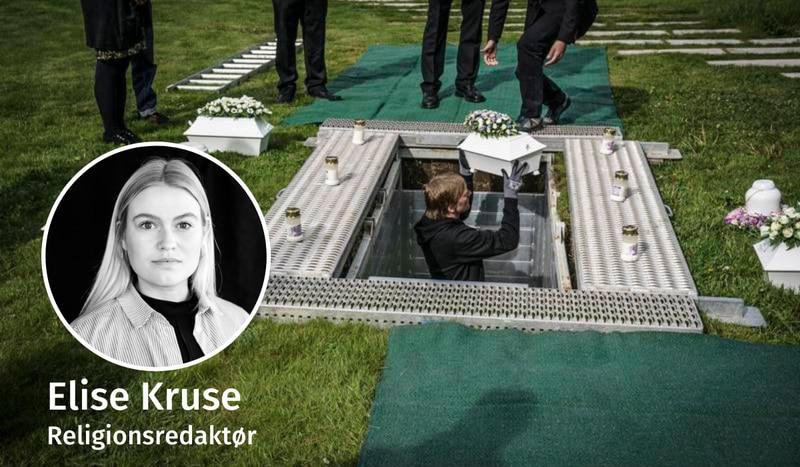 NEDSETTELSE: 28. mai i fjor ble 72 fostre satt ned i kister og urner i barneminnelunden på Vestre gravlund ved siden av Frognerparken i Oslo. 12 familier ønsket å være til stede under nedsettingen.