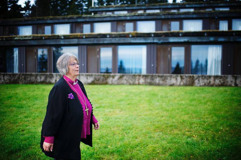 Biskop i Hamar, Solveig Fiske, meiner det er til bornas beste at kyrkja samarbeider meir med skulen.