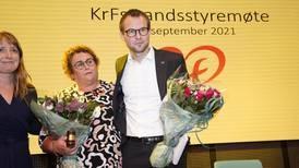 Kjell Ingolf Ropstad er ikke lenger KrF-leder