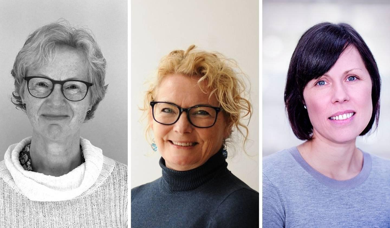Kirsten Jæger Fjetland, Unn Birkeland og Inger Johanne Bergerød