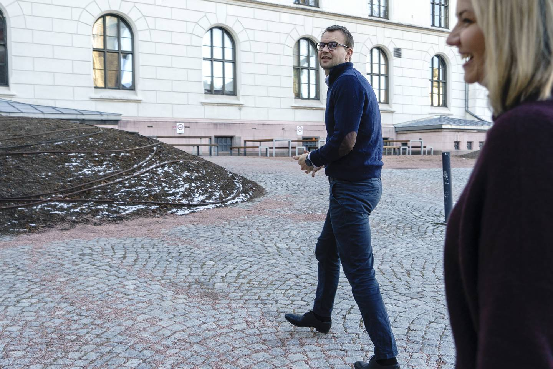 Kjell Ingolf Ropstad og Guri Melby.
