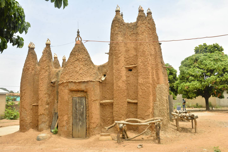 Mosqu�es de style soudanais du nord ivoirien