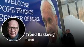 Paven på kirkehistorisk grunn
