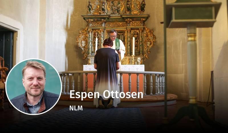 Espen Ottosen, kjønn og teologi, debatt