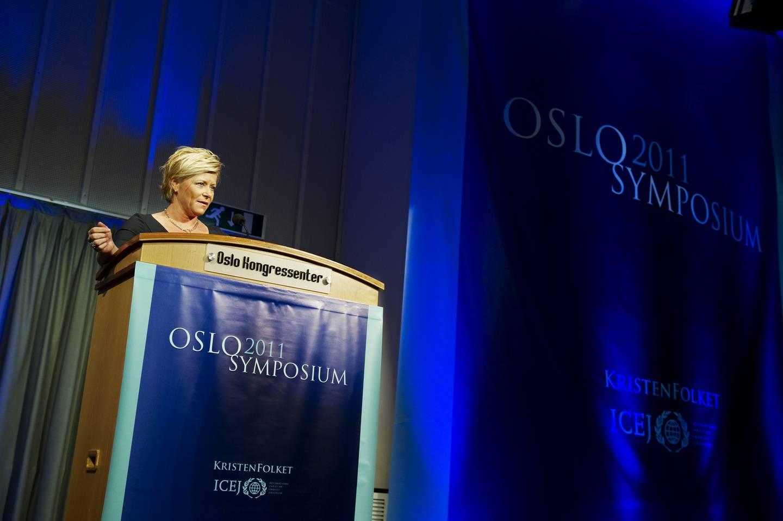 FRP: Jensen leder Fremskrittspartiet OSlO symposium 2011
