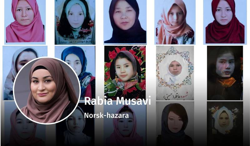 Rabia Musavi, hazara, debatt
