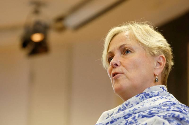 Kulturminister Thorhild Widvey.