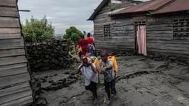 400.000 på flukt fra by som trues av lava i Kongo
