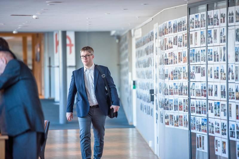 Kirkemøtet 2016. Presteforeningens leder, Martin Enstad