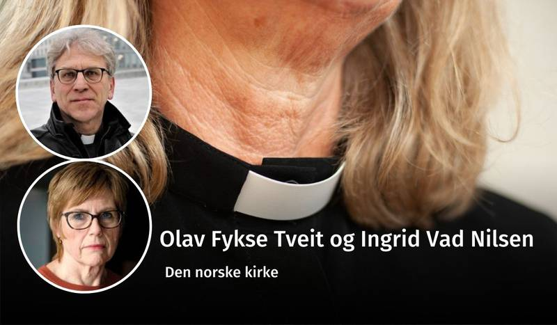 Tveit og Vad Nilsen, kvinneprestmotstand, debatt