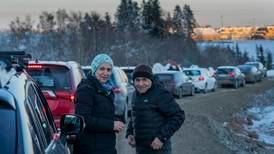 600 beboere fikk reise hjem igjen etter Gjerdrum-skredet
