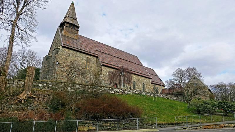 I BERGEN: Fana kirke inviterer til gudstjeneste denne langfredagen.