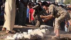 Knuste Syrias historie til grus