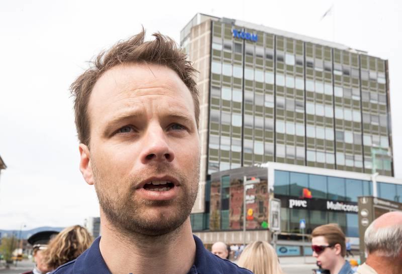 Oslo  20190501. Jon Helgheim er i Drammen 1 mai. Foto: Terje Pedersen / NTB scanpix