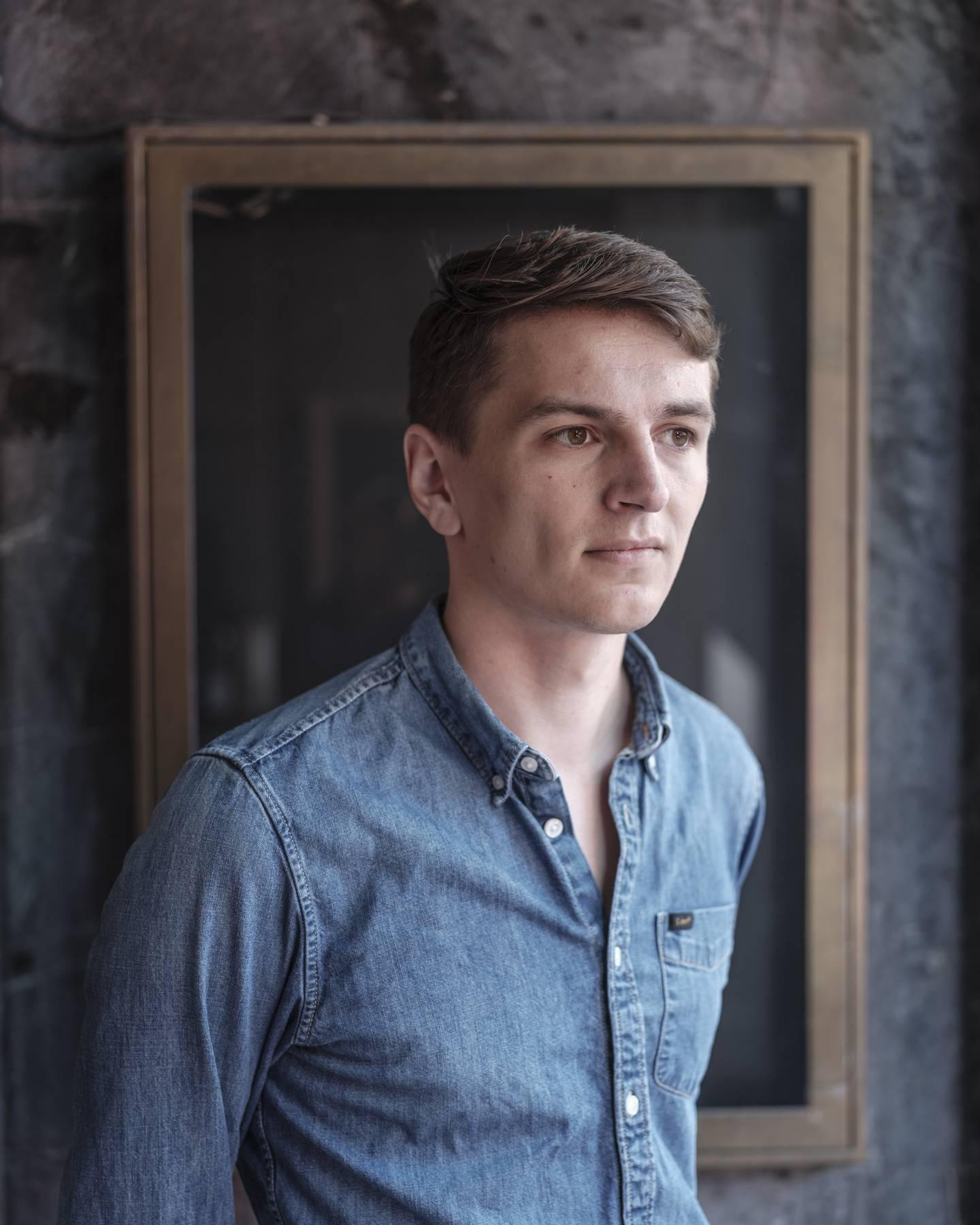 Unge Høyre-leder Ola Svenneby.