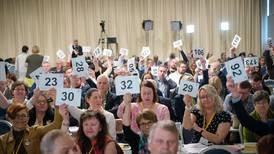 KrFs tause majoritet avgjør samarbeidsvalget