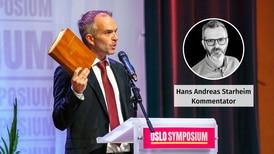 Kvifor kjem så mange toppolitikarar til Oslo Symposium?