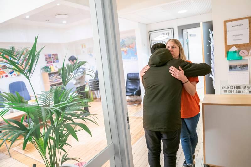 Helsesenteret for papirløse migranter. Virksomhetsleder Linnea Näsholm.