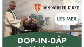 Uheldig menighet lokket med narko-dåp