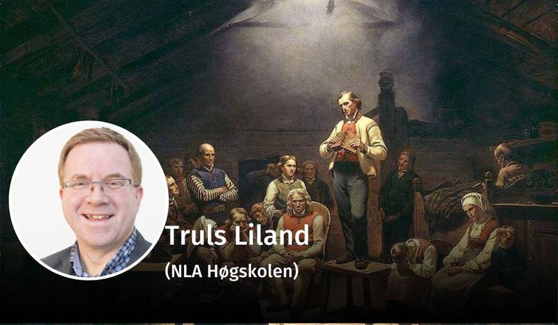 Truls Liland, Hauge, debatt