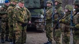 Forsvarsevnen uhyre viktig for Norge