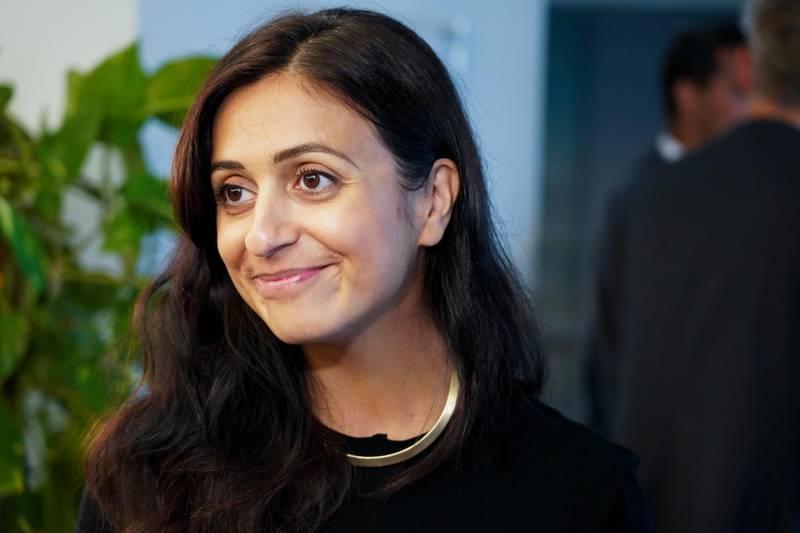 Sandvika 20200821.  Hadia Tajik (Ap) under et møte i finanskomiteen på Stortinget i forbindelse med Tangen-saken. Foto: Ole Berg-Rusten / NTB