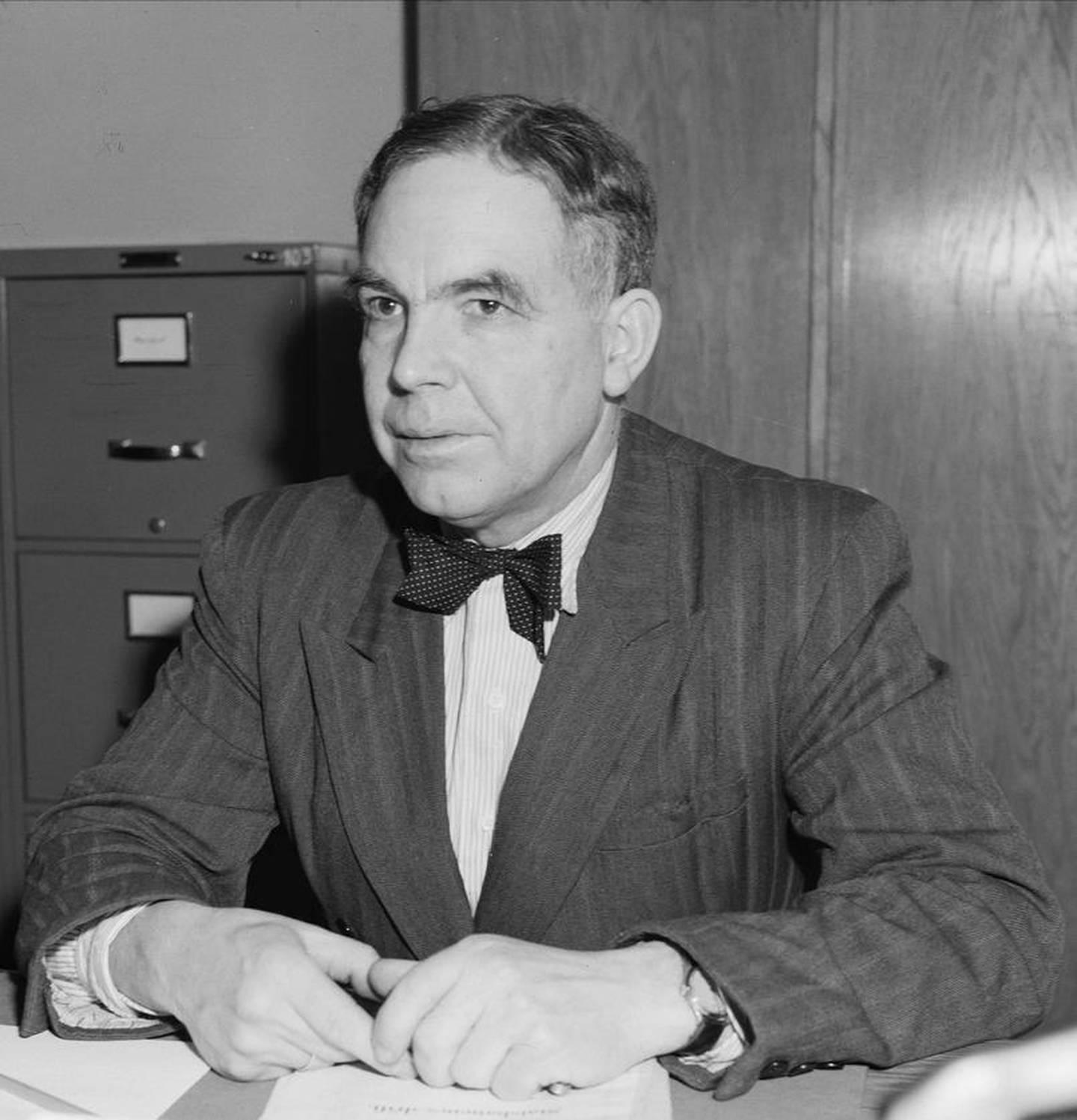 Motdagisten og Arbeiderpartipolitikeren Trond Hegna var positiv til et sosialistisk partnerskap mellom Ap og KrF i den tidlige etterkigstiden.