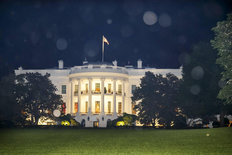 Det hvite hus i Washington.