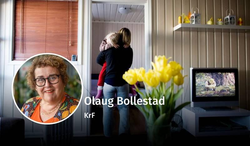 Olaug Bollestad, likestilling, debatt