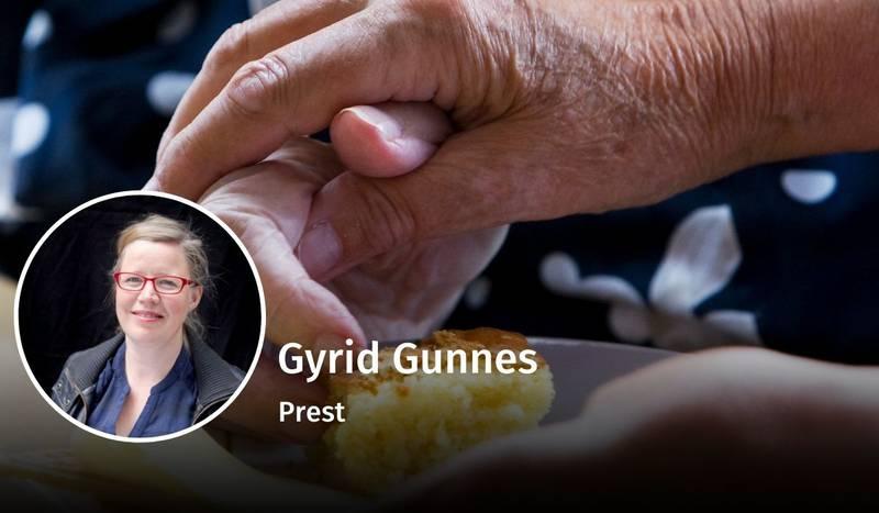 Gyrid Gunnes, diakoni, debatt