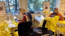 Innvandringskvinner nær permittert da de fikk et viktig oppdrag i virustiden