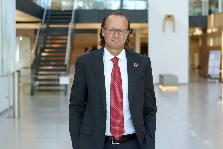Jan Erik Saugestad, konserndirektør for kapitalforvaltning i Storebrand.