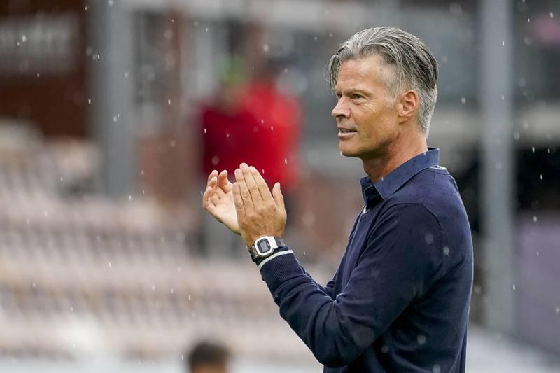 Mjøndalen-trener Vegard Hansen har fått inn en ny indreløper i stallen. Foto: Terje Bendiksby / NTB