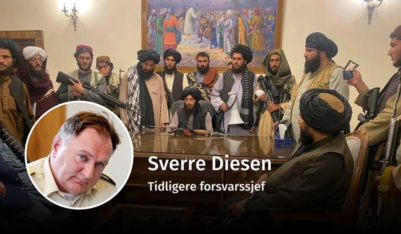 Sverre Diesen, Afghanistan, debatt