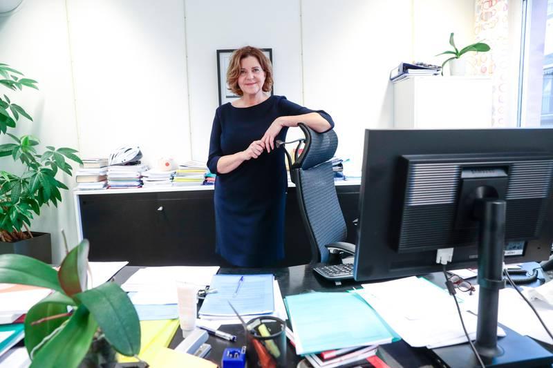 Oslo  20171218. Hanne Inger Bjurstrøm en norsk embedskvinne, advokat og tidligere politiker (Ap), som er likestillings- og diskrimineringsombud fra 2016.  Foto: Lise Åserud / NTB