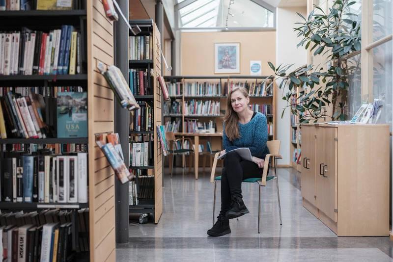 Spesialbibliotekar Linda Schade Andersen startet de første Shared reading-gruppene ved Ullevål sykehus i 2015. – Erfaringer og tilbakemeldinger er svært gode, forteller hun.