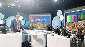 Vårt Lands kommentatorer i nasjonale TV-studio