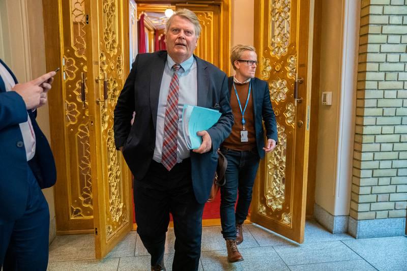 Statsbudsjettet 2020. Hans Fredrik Grøvan.