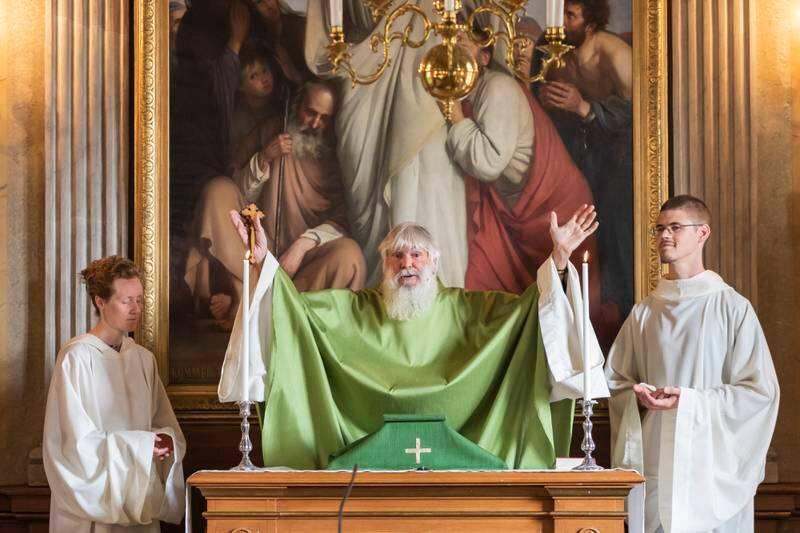 KASTES UT: Pinsepastor Peter Halldorfs økumeniske kommunitet får ikke lenger oppholde seg i Nya Slottet.