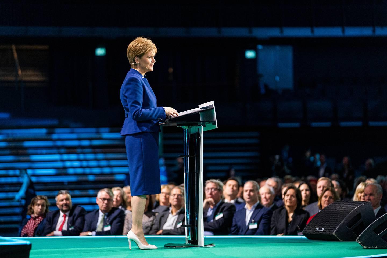 NHOs årskonferanse. Nicola Sturgeon
