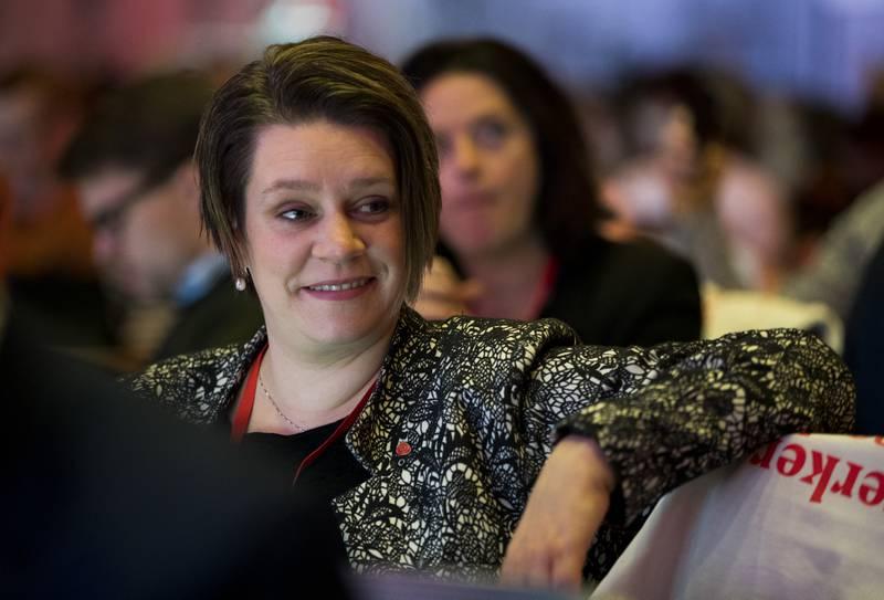 Fylkesleder i Vestland Ap Marte Mjøs Persen kan gå på et nederlag om rusreformen på partiets landsmøte i helgen. Foto: Terje Pedersen / NTB