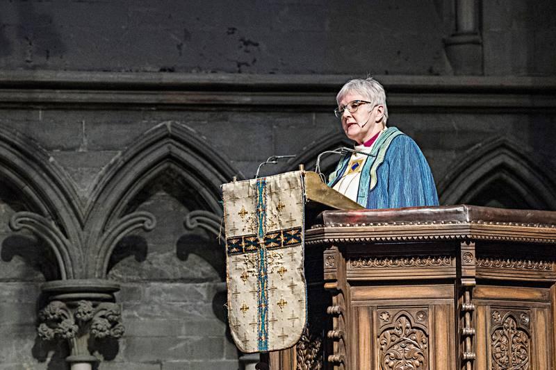 Kirkemøtet 2016 i Trondheim. Ann-Helen Fjeldstad Jusnes