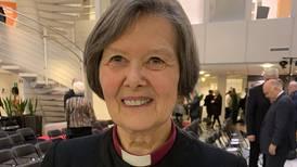 Tirsdag fikk hun St. Olavs-ordenstegnet