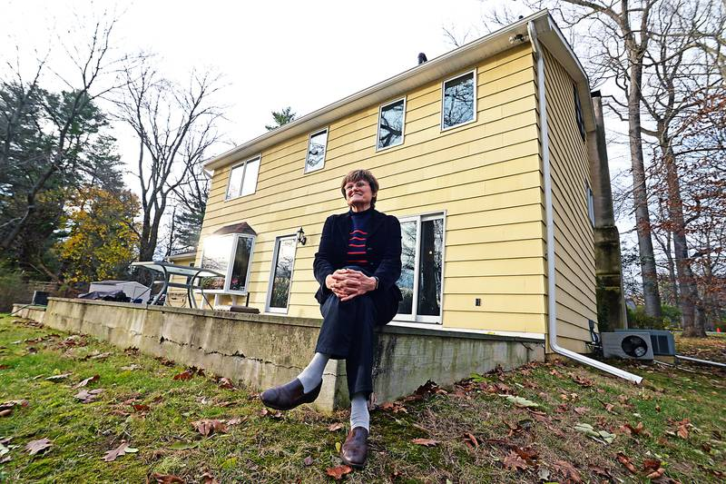 EXCLUSIVE: December 3, 2020 - Rydal, Pennsylvania, United States: Dr. Katalin Kariko, 65, the Hungarian born scientist whose work has become the cornerstone in the creation of the Covid-19 vaccine, outside her house. The pioneering scientist who fled Communist Hungary at 30 for the US in 1985 has spent 40 years of research into synthetic messenger RNA, long thought to be a boring dead-end. She said she was chronically overlooked, scorned, fired, demoted, repeatedly refused government and corporate grants, and threatened with deportation. Now, while others are earning billions, if you ask her what her cut is, she rolls her eyes with a rueful laugh and says, �maybe $3 million.� All along Kariko held fast to her belief in mRNA (Messenger ribonucleic acid), which has turned out to be key to building the complicated technology behind the new vaccines developed by Moderna and Germany�s BioNTech (which has teamed with Pfizer.) Scientists say they couldn�t have won the global vaccine race without her. Messenger ribonucleic acid, first discovered in 1961 at Caltech, has been called the �software of life.� Unlike other vaccines, which involve injecting dead viral remnants into the body, a vaccine using mRNA sends a set of instructions into cells that teaches � and triggers � them to fight off disease. It�s described as a clean vaccine � and the implications for preventing the spread of Covid and other diseases from cancer and strokes to malaria and multiple sclerosis is apparently off the charts. Legions of scientists, including many mRNA specialists, have helped develop the Moderna and BioNTech vaccines. But it was Kariko � with the help of University of Pennsylvania immunologist Drew Weissman � who discovered a method in 2005 to prevent the inflammatory response in the body to synthetic mRNA. That simple modification paved the way for both the BioNTech and Moderna vaccines. (Matthew McDermott/Polaris)